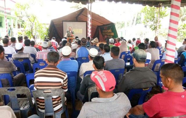 Danrem 011: Opster TNI Perkuat Ketahanan Pangan Nasional