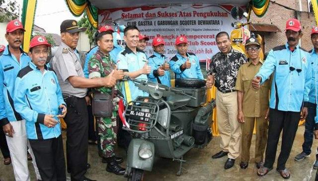 Kapolres Lhokseumawe Kukuhkan Club' Gastra Dewantara Aceh Utara