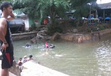 Kolam Mata'ie, Kembali Mengering