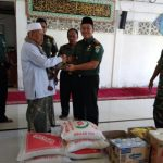 Di Penghujung Ramadhan 1439 H, Dandim Aceh Jaya Melakukan Silaturahmi Dengan Para Ulama Serta Membagikan Ratusan Bingkisan Paket Lebaran
