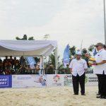 Alex Noerdin : Buka Bola Voli  Pantai  Asia Pasific 2017 di JSC