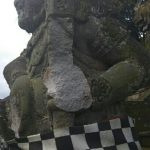 Polisi Selidiki Rusaknya Patung Di Pura Mandhara Giri Semeru Agung