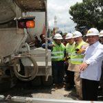Gubernur Tinjau Pengerjaan Jalan Provinsi di OKU Timur dan OKU