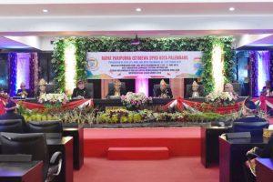 DPRD Kota Palembang Sidang Paripurna Istimewa HUT Kota Palembang ke-1335.