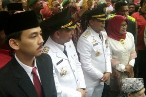 Dilantik Sebagai Walikota Cimahi, Ajay Tidak Didampingi Istri