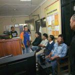 Kepolisian Sektor Garut Kota menangkap Empat oknum Wartawan yang di duga melakukan pemerasan