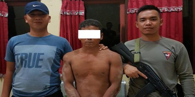 Alfian Dibekuk Polisi Saat Sedang Mencuri Sawit