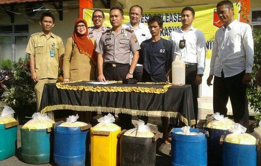 Jual Tahu Berformalin di Tanjung Enim, Hendrik Diringkus