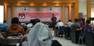 KPU Kota Palembang Sosialisasikan Peraturan Tentang Pilkada