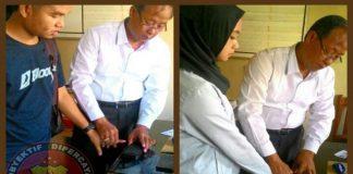 Polres Lubuk Linggau Berikan Pelayanan Pembuatan Sidik Jari Tanpa Ribet