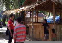 Ini Rumah Pintar Ala Polsek Rawas Ilir Untuk Anak-anak Suku Anak Dalam