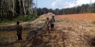 Proyek Jalan Tol Palembang Betung Diduga Serobot Lahan Warga