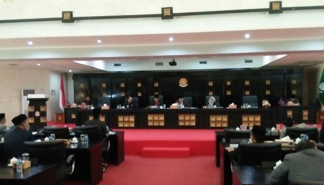Harnojoyo Berikan Jawaban Tentang Raperda Usul Inisiatif DPRD Kota Palembang