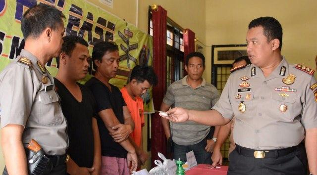 Simpan Narkoba Warga Linggau dan Prabumulih di Terjaring KKYD