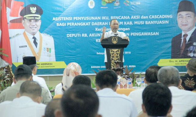Kabupaten Musi Banyuasin Luncurkan e-Sakip