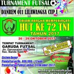 Danrem Siapkan Hadiah Untuk Pemenang Futsal