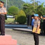 Pimpin Apel Hari Kesadaran Nasional, Kapolres Aceh Jaya Berikan Arahan