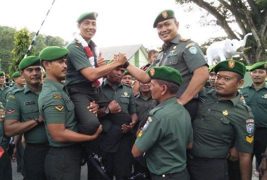 Dandim Aceh Jaya Khaerus Saleh Harapkan Para Prajurit Harus Loyal Pada Pimpinan