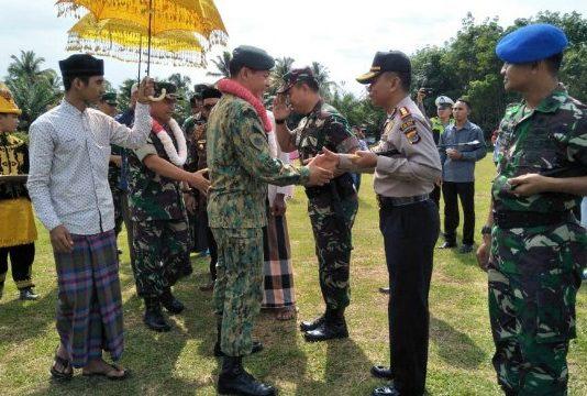 Panglima Tentara Brunei Darussalam Kunjungi Aceh Jaya, ini yang Dilakukan