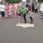 Tiga Anggota Polantas Polres Pandeglang Patut di Acungkan Jempol