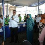 Pemkab Muba Gelar Pasar Murah di Desa Pinang Banjar Sungai Lilin