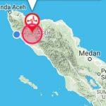 Gempa Berkekuatan 5,3 SR Mengguncang Aceh Jaya