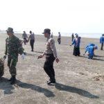 KODIM 0114/Aceh Jaya, Ajak Masyarakat Bersihkan Pantai Kota Calang