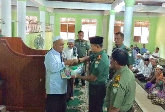 Silaturahmi Ke Pesantren Darul Nizam, Tenom. Ini Pesan Dandim Aceh Jaya