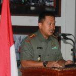Musim Kemarau Tiba, Waspadai Karhutla, Pesan Dandim Aceh Jaya