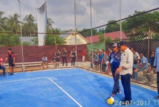 Open Turnamen Volly Ball Piala Anggota DPRA di Bireuen Resmi di Buka Yah Fud