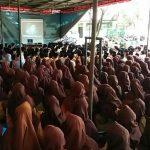 Ratusan Pelajar SMU N 1 Matang Kuli Antusias Saksikan Film G 30S/ PKI