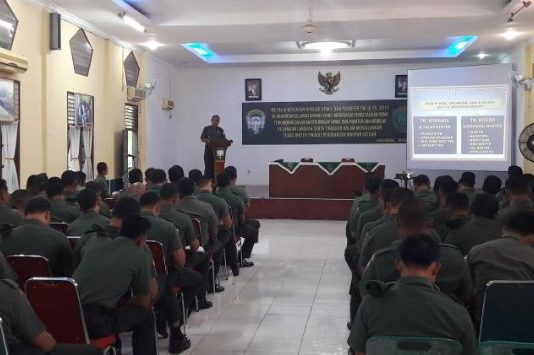 Tingkatkan Kemampuan Babinsa, Kodim Aceh Utara Selenggarakan Pembinaan