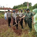 Dandim Aceh Jaya Tanam 1.180 Bibit Pohon Untuk Penghijauan