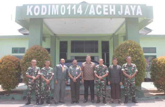 TIM KEMHAN RI Kunjungi Aceh Jaya