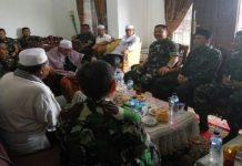 Pangdam Silaturahmi ke Rumah Abu Kuta Krueng