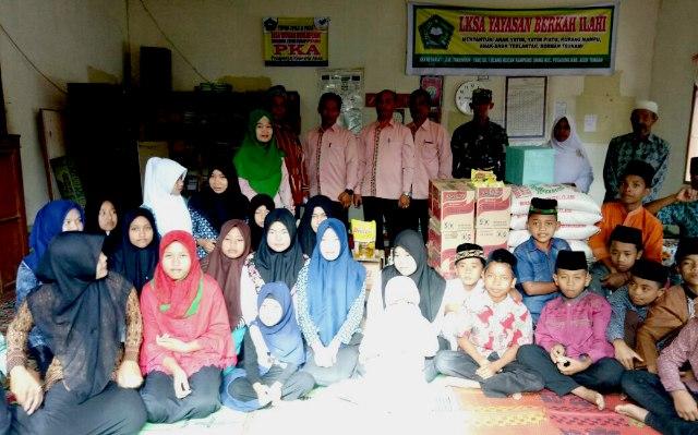 Sambut HUT RI Ke-72, Forkopimda Aceh Tengah Anjangsana di Tiga Yayasan Panti Asuhan
