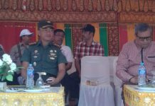 Sambut HUT RI Ke-72, Dandim 0107/Aceh Selatan Apresiasi Penampilan Peserta Drama Kolosal