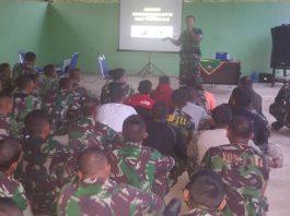 Tingkatkan Kemampuan Prajurit, Korem 011/LW Adakan Latihan UST Kompi