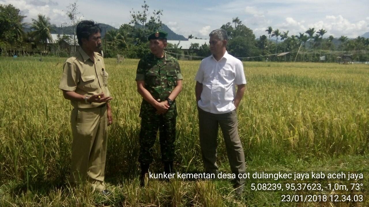 Perwakilan Kementerian Pertanian Ri Mengunjungi Aceh Jaya