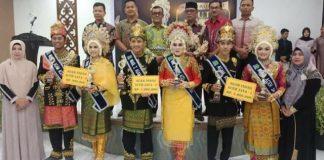 Acara pemilihan duta wisata Aceh jaya 2018