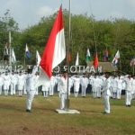 Ribuan Warga Ikuti Upacara Bendera