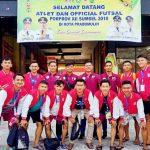 Persiapan Minim, Taksurutkan Target Tim Futsal Banyuasin