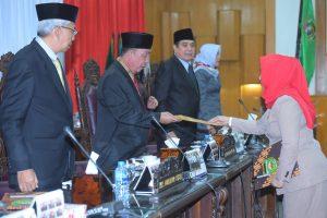 DPRD Sumsel Gelar Dua Rapat Paripurna Sekaligus