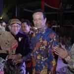 Gubernur Sumsel  dan Sri Sultan Hamengkubuwono X hadiri Pagelaran Wayang Kulit Semalam Suntuk  di KTM