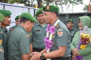 Kodim 0418/Palembang Gelar Tradisi Pisah Sambut Komandan Kodim