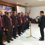 Gantada Resmi Pimpin PTMSI Sumsel 2019-2023