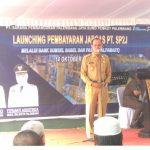 Walikota Palembang,  Harnojoyo Kucurkan Dana Rp21miliar Untuk PT SP2J