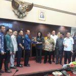 Anggota DPRD Sumsel Dapil Palembang I dan II, Kompak Datangi Kantor Walikota Palembang Saat Reses Tahap II 2019