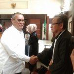 Pengacara AY- Maqdir Katakan JPU KPK Tidak Konsisten Nguraikan Dakwaannya.