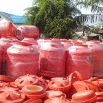Camat Selat Penuguan Tegur Kepala Desa Sumber Rejo Terkait Pengadaan Tandon Air